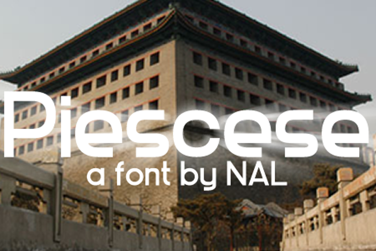 Piescese Font