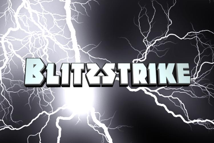 Blitzstrike Font