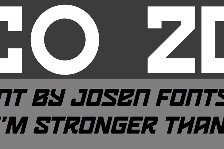 LECO 2014 Font