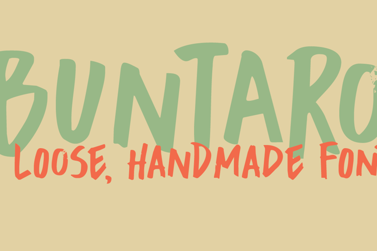 DK Buntaro Font