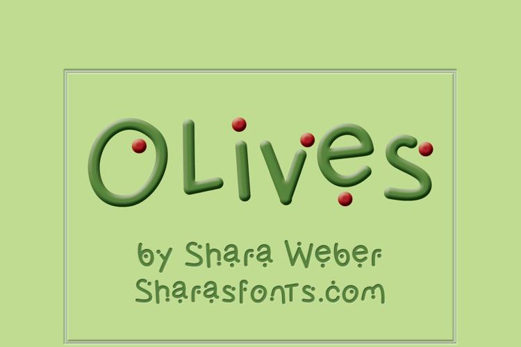 Olives Font