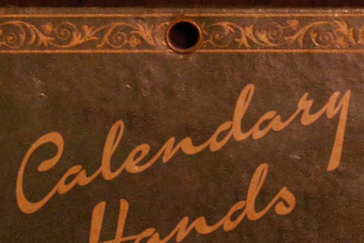 Calendary Hands Font