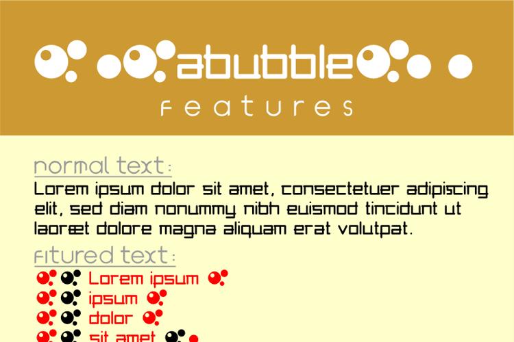 abubble Font