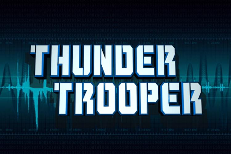Thunder Trooper Font