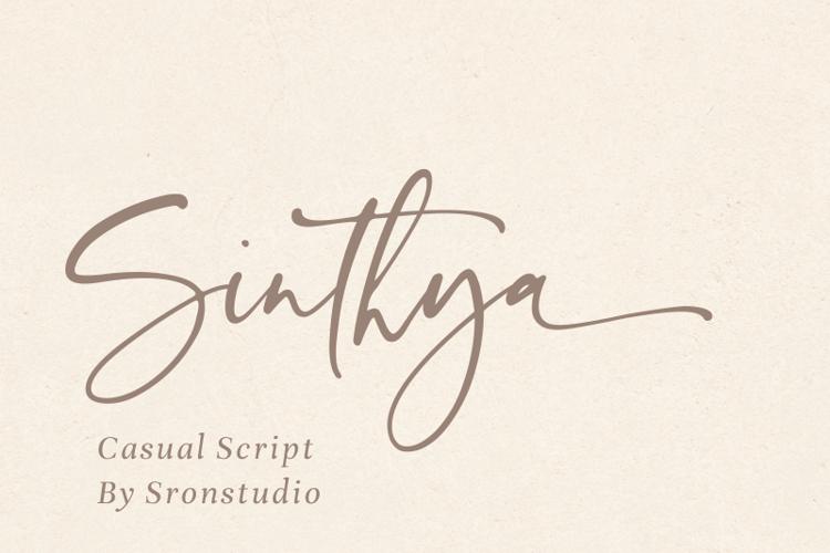Sinthya Font