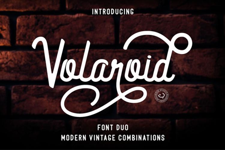 Volaroid Script Font