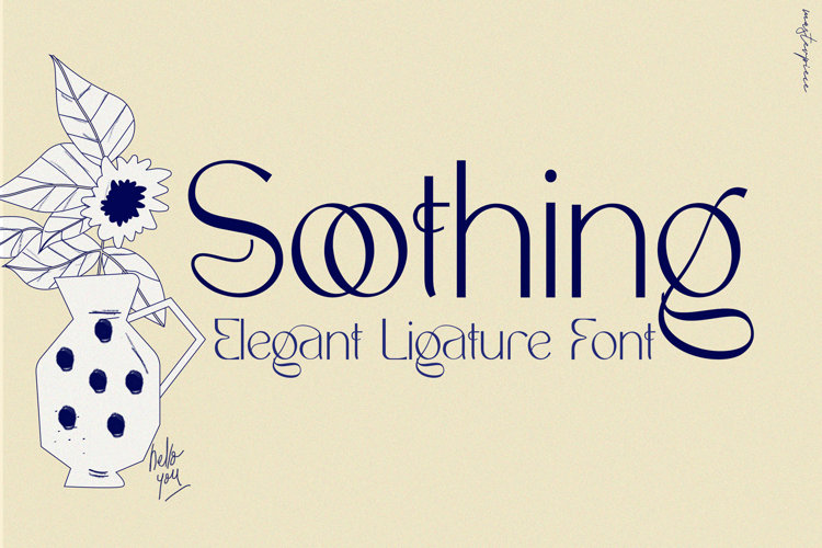 Soothing Font