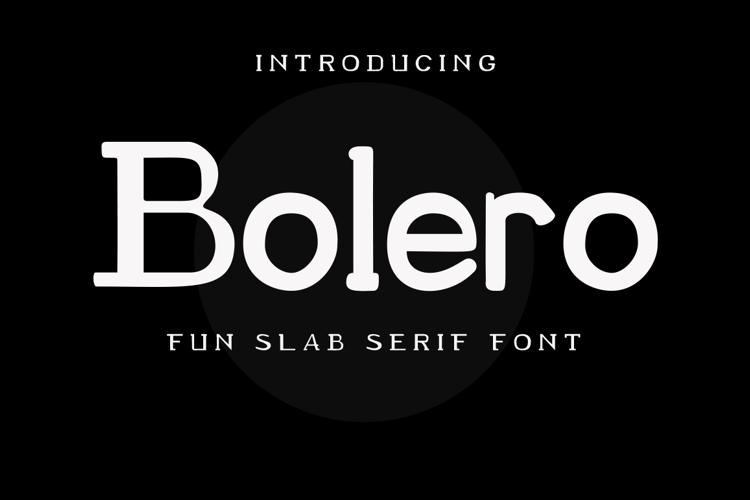 Bolero - Font