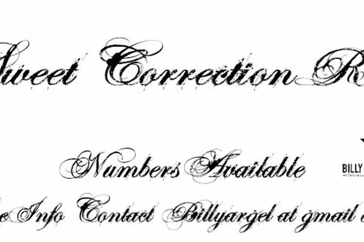 SWEETCORRECTION ROTH Font