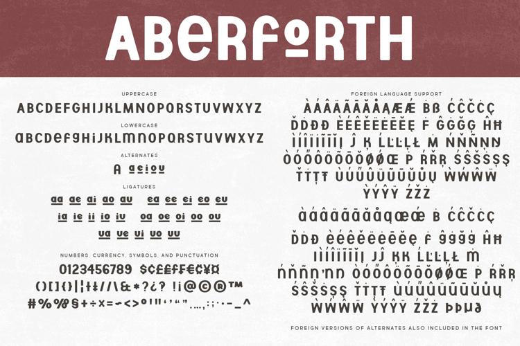 Aberforth Font