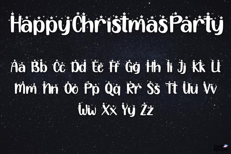 Selamat Pesta Natal Font