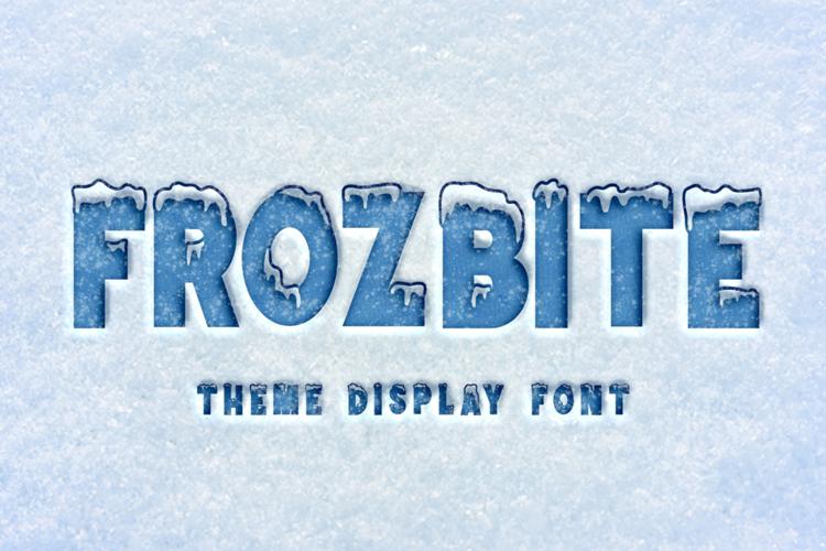 FROZBITE Font