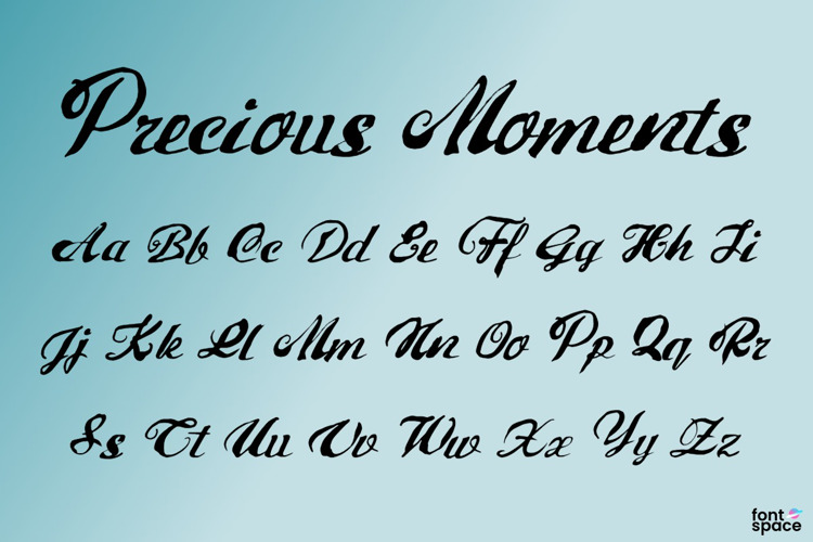 Precious Moments Font
