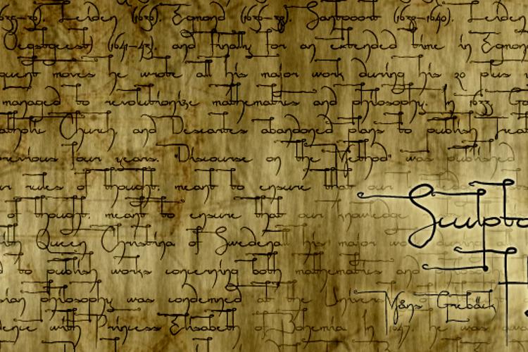 Sculptors Hand Font