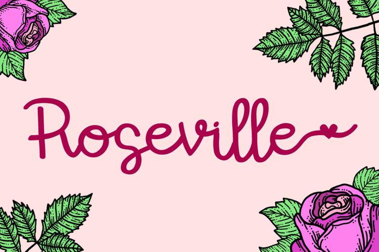 Roseville Font