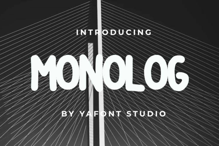 MONOLOG Font
