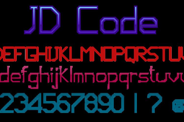 JD Code Font