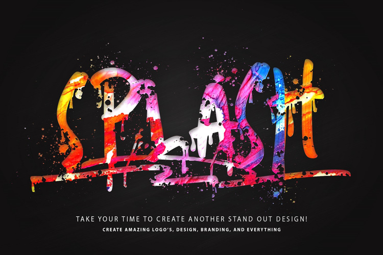 Skater Boys Splash Font