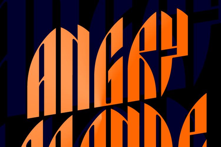 Angry Orange Font