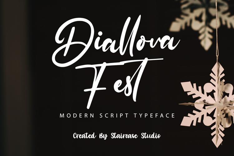 Diallova Fest Font