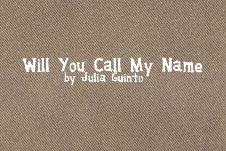 WillyouCallmyName Font