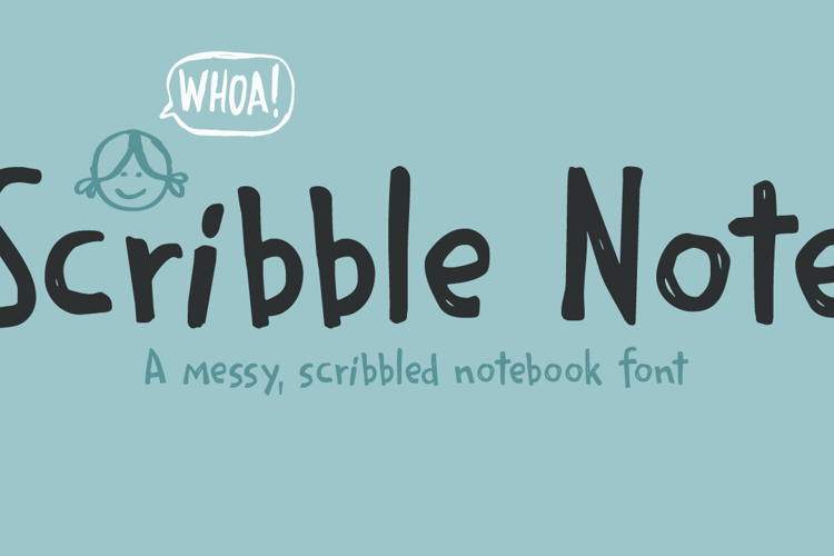 Scribble Note Font