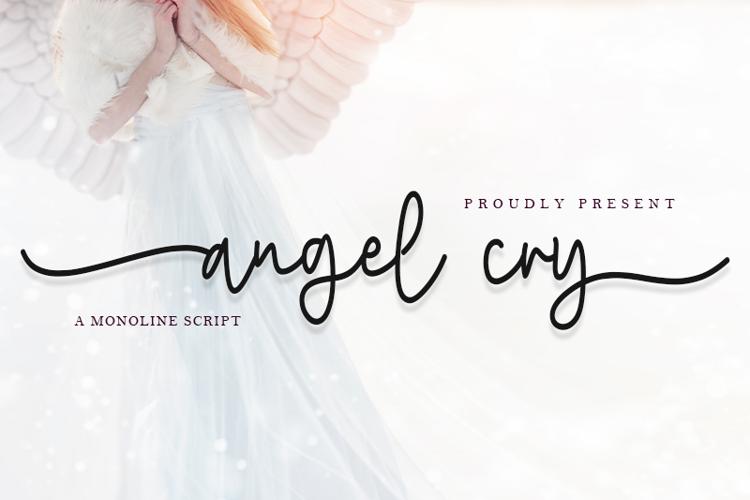 Angel Cry Font