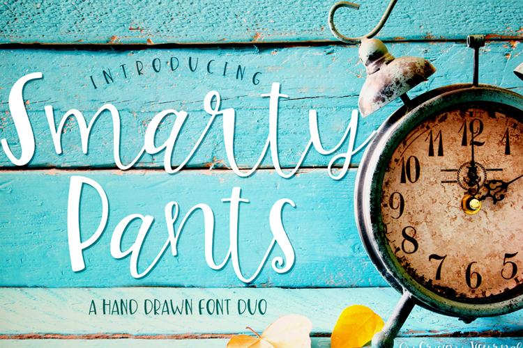 Smarty Pants-ip Font