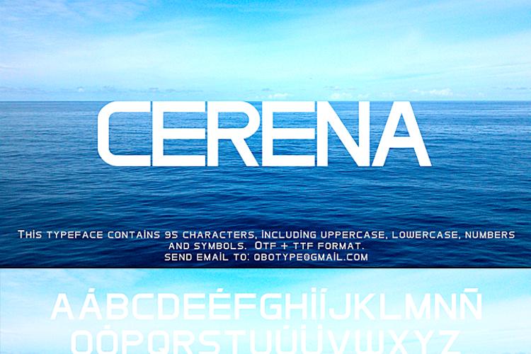 Cerena Font
