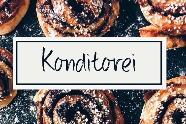 DK Konditorei Font