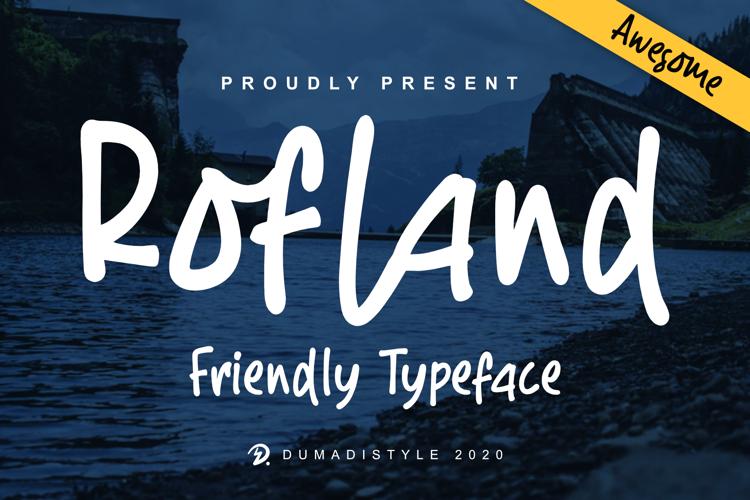Rofland Font