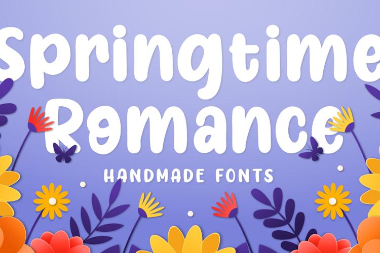 Springtime Romance Font