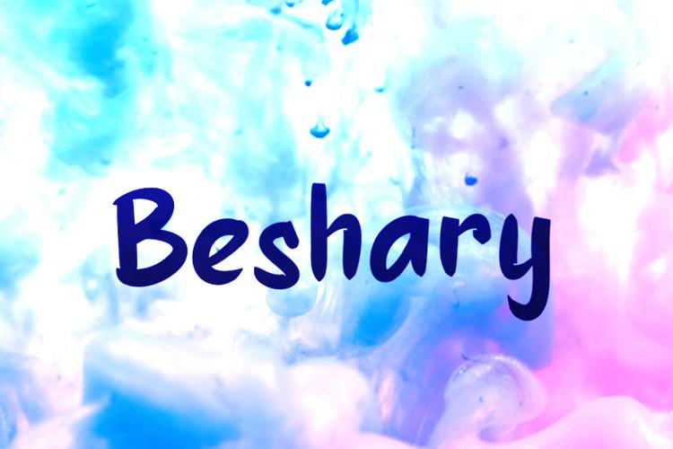 b Beshary Font