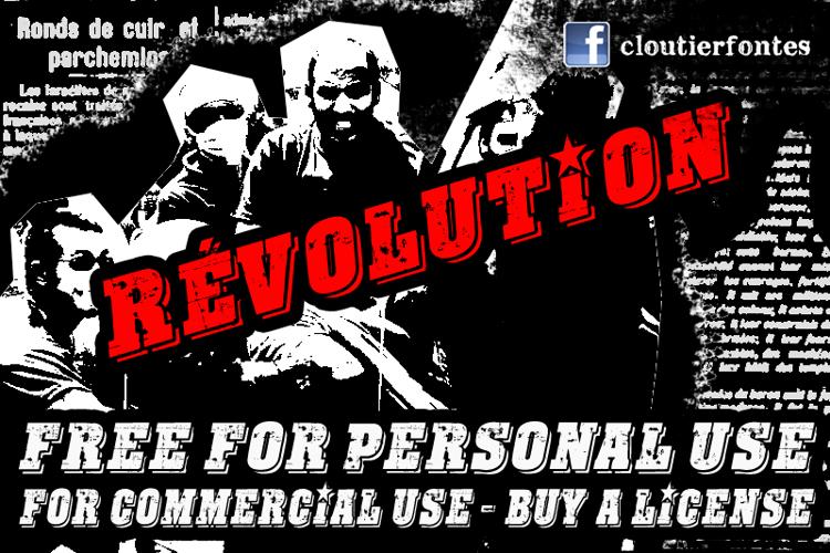 CF Revolution Font