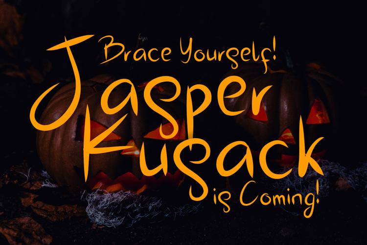 Jasper Kusack Font