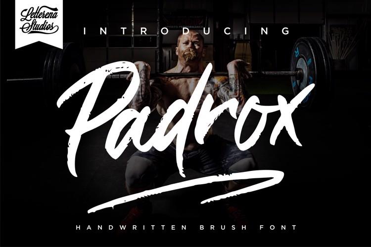 Padrox Font