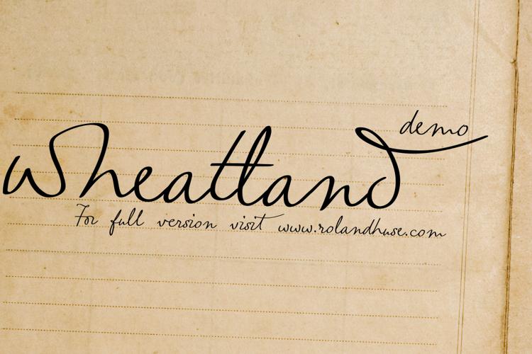 wheatland-demo Font