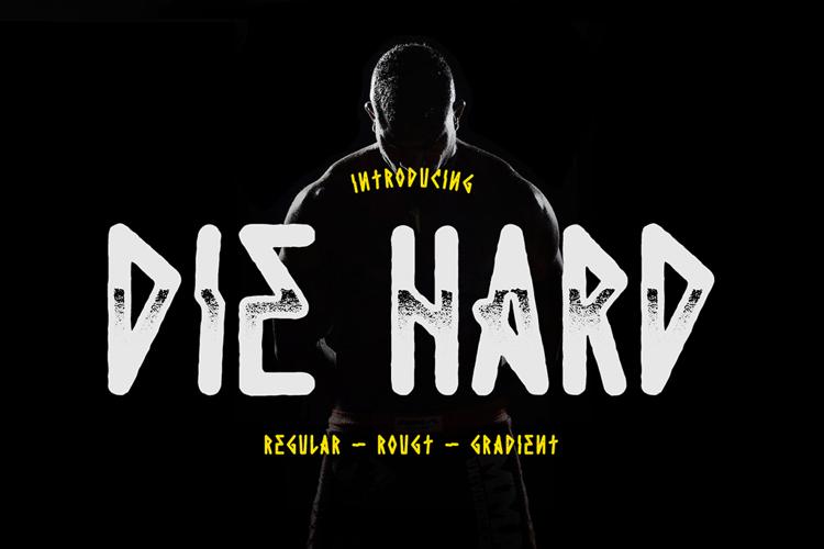 Die Hard Font