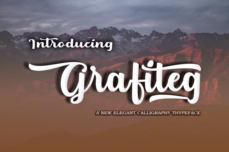 Grafiteg free Font