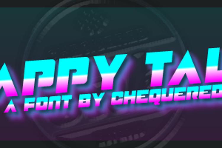 Happy Talk Font