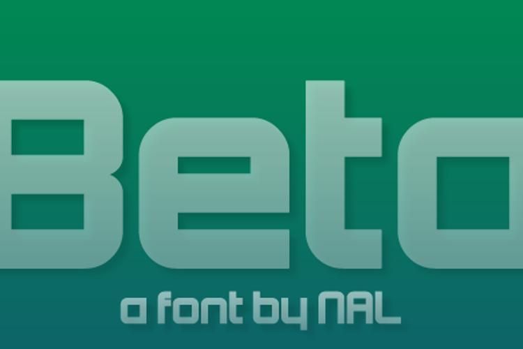 Beta Font