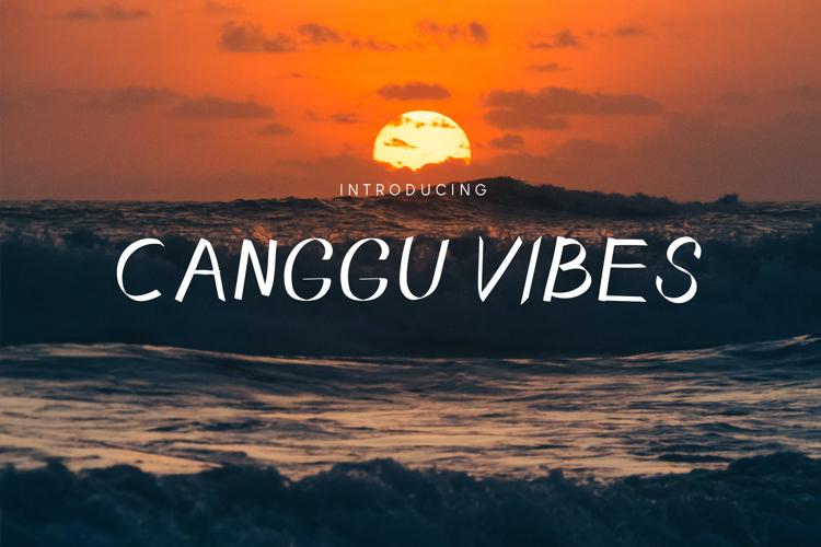 Canggu Vibes Font
