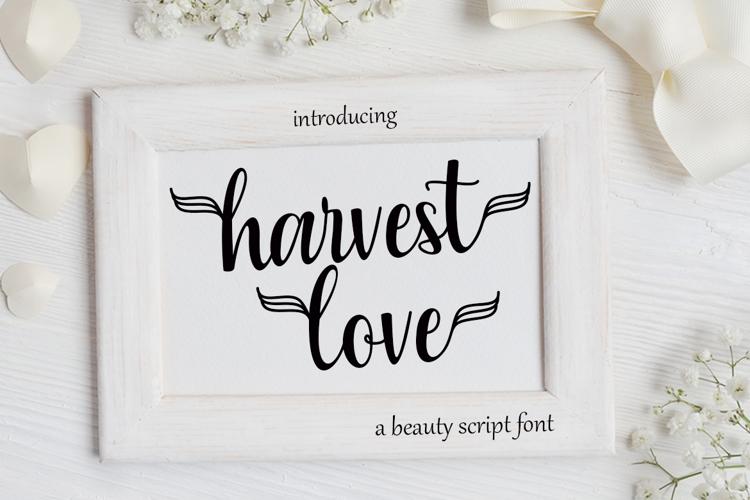 Harvest Love Font