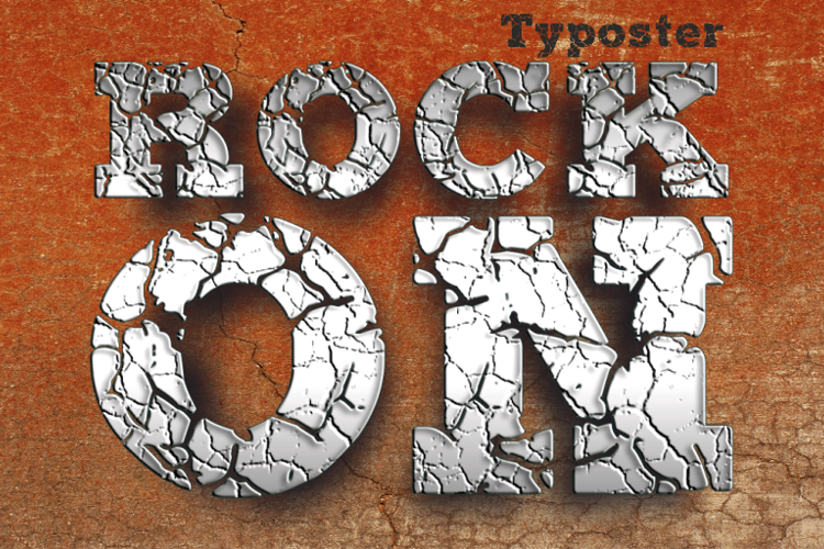 ROCK-ON Demo Font