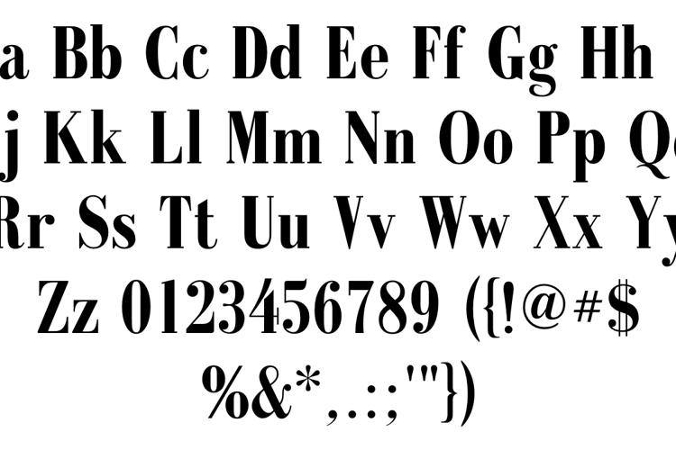 Galileo FLF Font