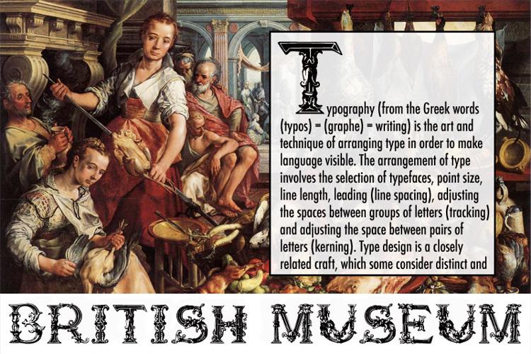British Museum 1490 Font