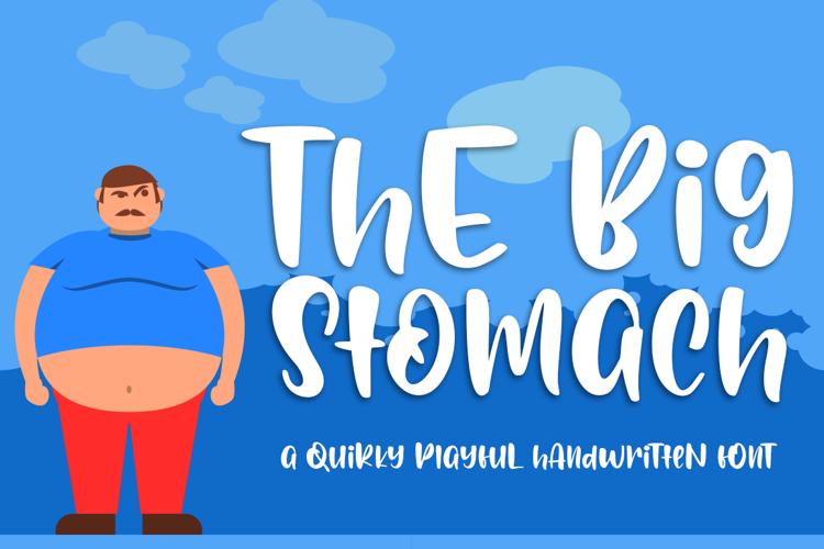 Big Stomach Font