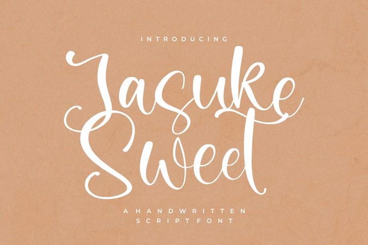 Jasuke Sweet Font