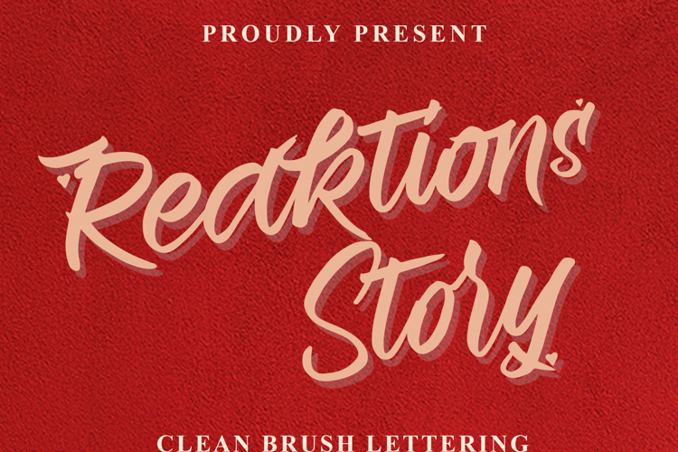 Reaktions Story Font