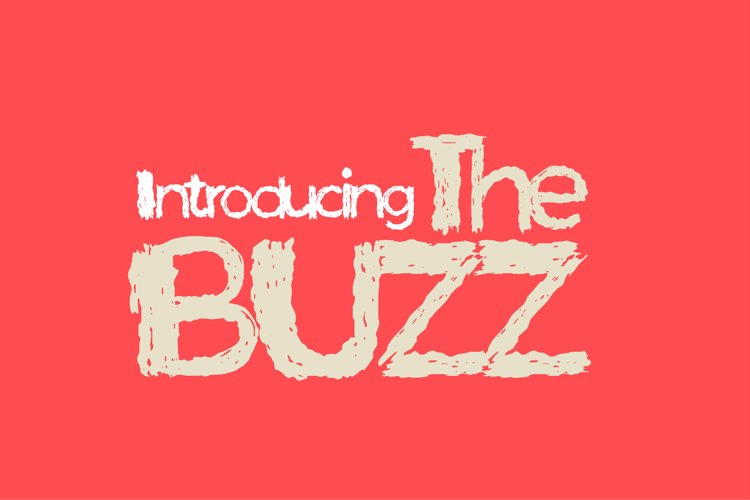 The Buzz Font